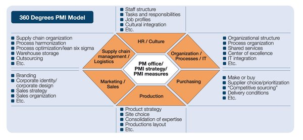 360 degrees PMI model